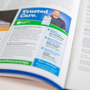 Aberdeen Medical Center Pharmacies magazine print advertising