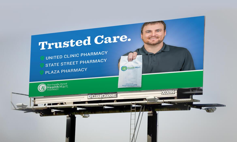Aberdeen Medial Center Pharmacy billboard design