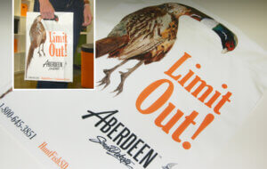 creative marketing pheasant bag