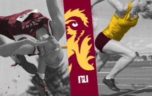 Northern State University athletic pillars